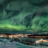 Aurora magic Ulsteinvik